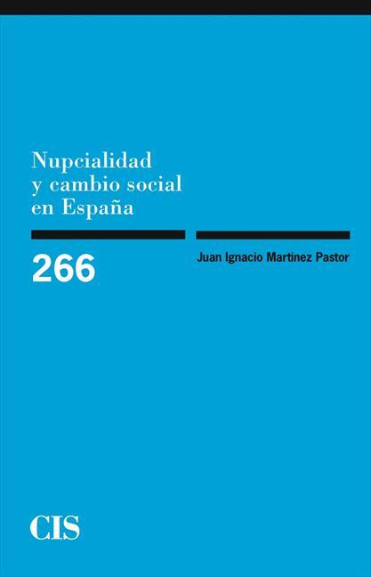 Nupcialidad y cambio social en España