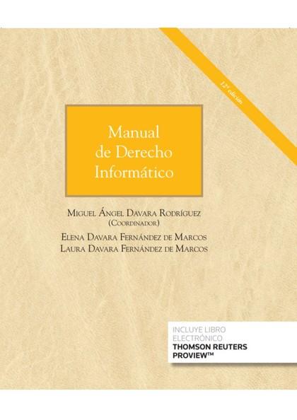 MANUAL DE DERECHO INFORMÁTICO.