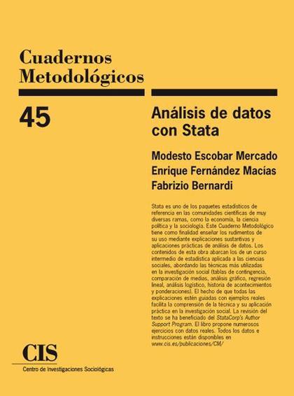 ANÁLISIS DE DATOS CON STATA (PAPERBACK - JUN 30, 2010)