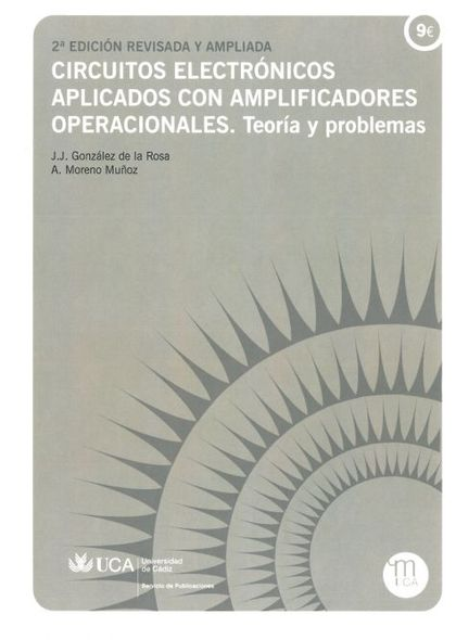 CIRCUITOS ELECTRÓNICOS APLICADOS CON AMPLIFICADORES OPERACIONALES : TEORÍA Y PROBLEMAS