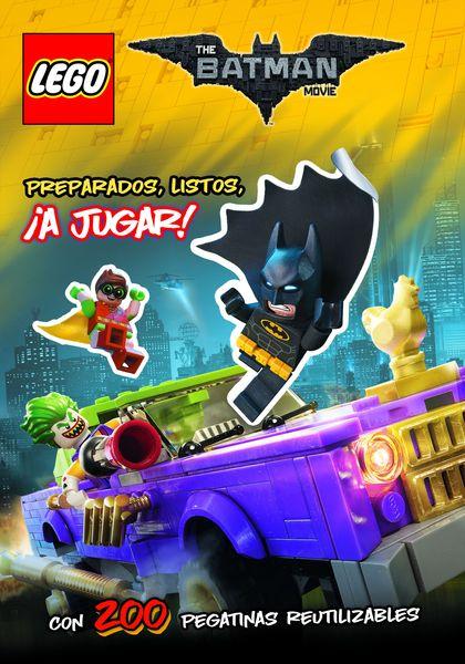 LEGO BATMAN. LIBRO DE PEGATINAS.