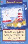 HACER CUADROS CON SERVILLETAS DE PAPEL