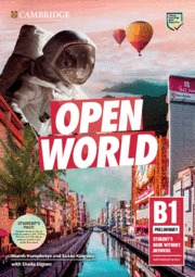 OPEN WORLD PRELIMINARY.  STUDENT´S BOOK PACK (SB WO ANSWERS W ONLINE PRACTICE AN