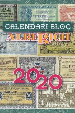 CALENDARI BLOC 2020. ALBERICH.