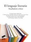 EL LENGUAJE LITERARIO : VOCABULARIO CRÍTICO