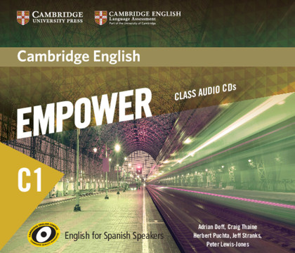 CAMBRIDGE ENGLISH EMPOWER FOR SPANISH SPEAKERS C1 CLASS AUDIO CDS (5).