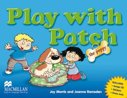 PLAY WITH PATCH + SONGS CD +STICKERS + PRESS OUTS