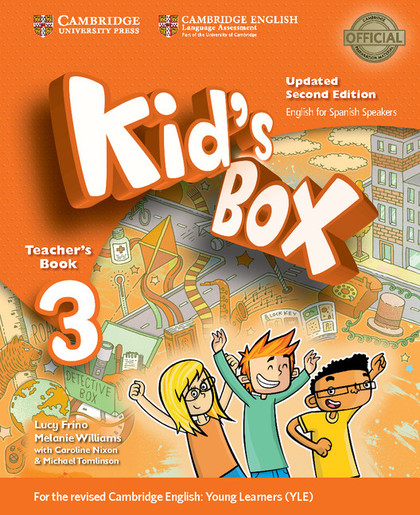 KID´S BOX LEVEL 3 TEACHER´S BOOK UPDATED ENGLISH FOR SPANISH SPEAKERS 2ND EDITIO.