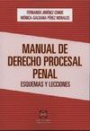 MANUAL DE DERECHO PROCESAL PENAL : ESQUEMAS Y LECCIONES