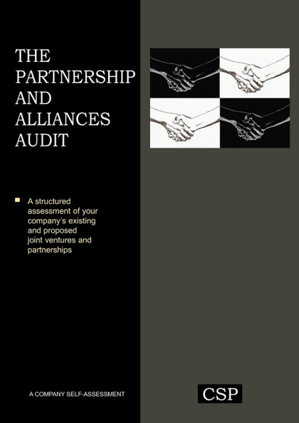 THE PARTNERSHIP AND ALLIANCES AUDIT