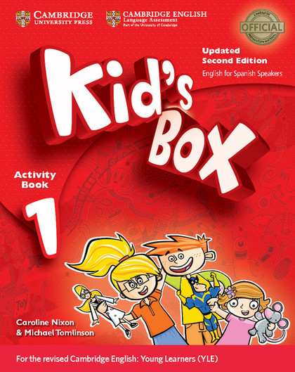 KID´S BOX LEVEL 1 ACTIVITY BOOK WITH CD-ROM UPDATED ENGLISH FOR SPANISH SPEAKERS.