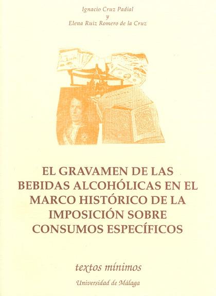 GRAVAMEN DE LAS BEBIDAS ALCOHOLICAS
