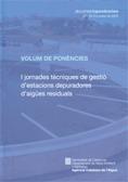VOLUM DE PONÈNCIES I JORNADES TÈCNIQUES DE GESTIÓ D´ESTACIONS DEPURADORES D´AIGÜES RESIDUALS :