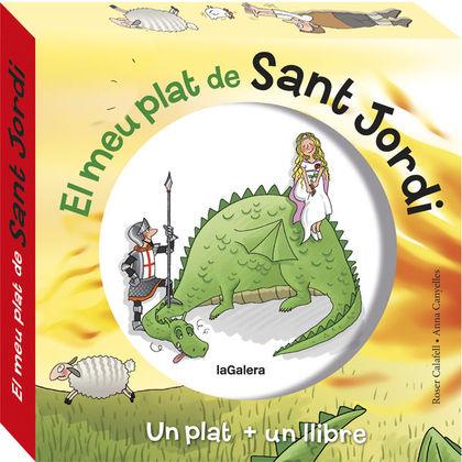 EL MEU PRIMER PLAT DE SANT JORDI