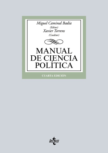 MANUAL DE CIENCIA POLÍTICA.