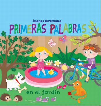 PRIMERAS PALABRAS EN EL JARDÍN : IMANES DIVERTIDOS
