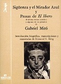 SIGÜENZA Y EL MIRADOR AZUL Y PROSAS DE EL IBERO
