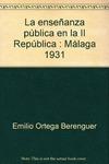 ENSEÑANZA POLITICA II REPUBLICA