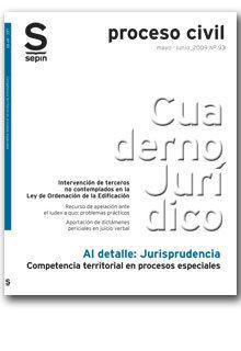 COMPETENCIA TERRITORIAL EN PROCESOS ESPECIALES