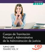 CUERPO DE TRAMITACIÓN PROCESAL Y ADMINISTRATIVA DE LA ADMINISTRACIÓN DE JUSTICIA.