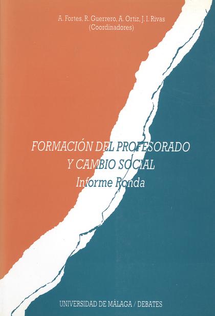 FORMACION PROFESORADO CAMBIO SOCIAL
