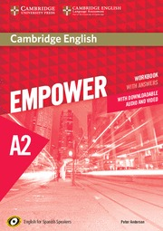 CAMBRIDGE ENGLISH EMPOWER FOR SPANISH SPEAKERS A2 WORKBOOK WITH ANSWERS, WITH DO.