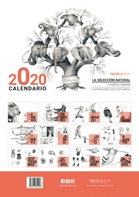 CALENDARIO 2020 LA SELECCION NATURAL