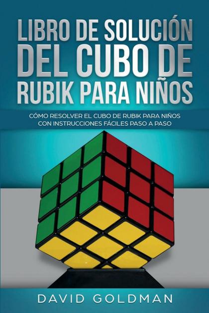 LIBRO DE SOLUCIÓN DEL CUBO DE RUBIK PARA NIÑOS