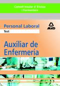 AUXILIAR DE ENFERMERÍA, PERSONAL LABORAL, CONSELL INSULAR D´EIVISSA I FORMENTERA. TEST