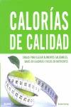 CALORÍAS DE CALIDAD