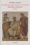 HISTORIA DE LA DECADENCIA Y CAÍDA DEL IMPERIO ROMANOTOMO II.
