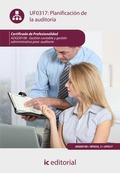 Planificación de la auditoría. ADGD0108
