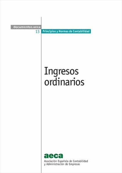 INGRESOS ORDINARIOS