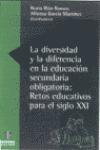 DIVERSIDAD DIFERENCIA EDUCACION SECUNDARIA OBLIGATORIA RETOS EDUCATIVO