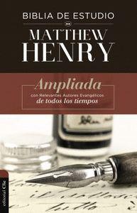BIBLIA DE ESTUDIO MATTHEW HENRY (EDICI?N TD).