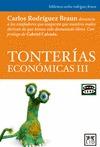 TONTERÍAS ECONÓMICAS III.