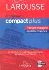 DICCIONARIO COMPACT PLUS ESPAÑOL-FRANCÉS, FRANCÉS-ESPAÑOL