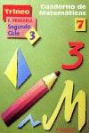 Trineo matemáticas, Educación Primaria, 2 ciclo. Cuaderno 7