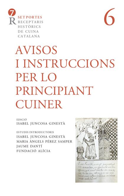 AVISOS I INSTRUCCIONS PER LO PRINCIPIANT CUINER.