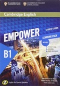 CAMBRIDGE ENGLISH EMPOWER FOR SPANISH SPEAKERS, B1. STUDENT´S BOOK