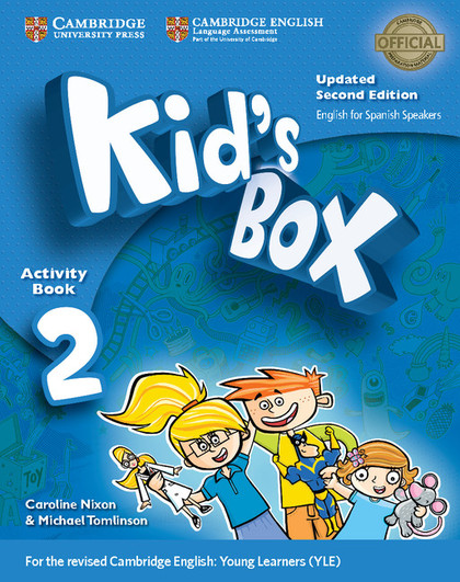 KID´S BOX LEVEL 2 ACTIVITY BOOK WITH CD-ROM UPDATED ENGLISH FOR SPANISH SPEAKERS.
