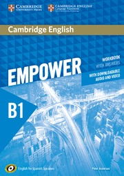 CAMBRIDGE ENGLISH EMPOWER FOR SPANISH SPEAKERS B1 WORKBOOK WITH ANSWERS, WITH DO.