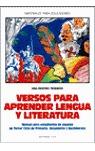 VERSOS PARA APRENDER LENGUA Y LITERATURA: MANUAL PARA ESTUDIANTES DE ESPAÑOL DE TERCER CICLO DE