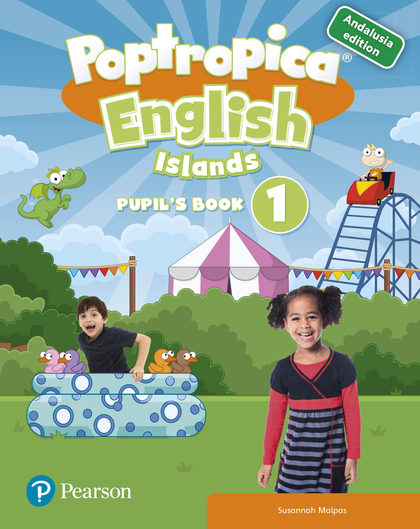 POPTROPICA ENGLISH ISLANDS 1 PUPIL´S PACK ANDALUSIA.