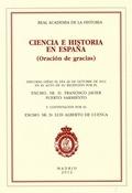 CIENCIA E HISTORIA EN ESPAÑA : ORACIÓN DE GRACIAS