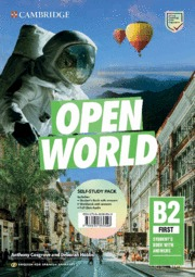 OPEN WORLD FIRST.  ENGLISH FOR SPANISH SPEAKERS. SELF-STUDY PACK (STUDENT´S BOOK.
