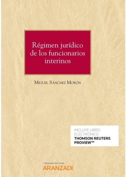 REGIMEN JURIDICO DE LOS FUNCIONARIOS INTERINOS DUO.