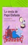 LA SIESTA DE PAPÁ ELEFANTE