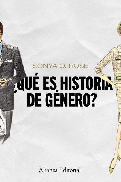 ¿QUÉ ES HISTORIA DE GÉNERO?