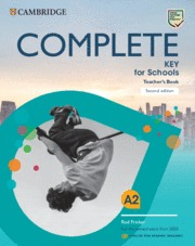 COMPLETE KEY FOR SCHOOLS FOR SPANISH SPEAKERS TEAC.